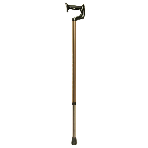 Bronze Cane, Medium Orthopedic Handle