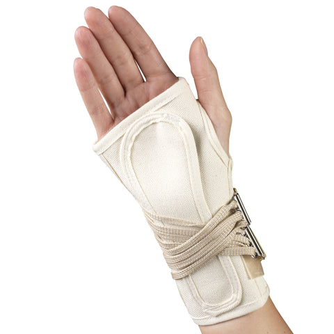 OTC 2362, Cock-Up Wrist Splint - Canvas