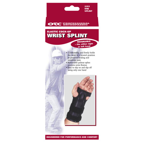 OTC 2351, Cock-Up Wrist Splint - Reversible