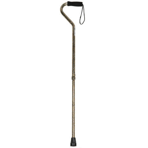 PCP 214164, Adjustable Pattern Cane with Offset Handle and Wrist Strap