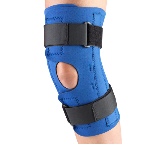 OTC 0312, Neoprene Knee Stabilizer Wrap - Spiral Stays