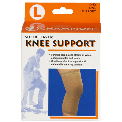 Champion C-62, Knee Support