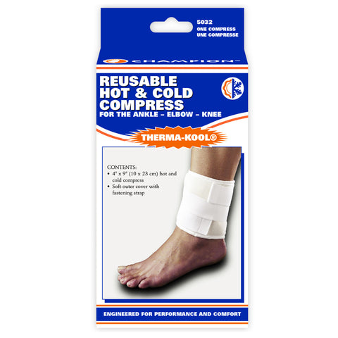 Champion C-5032, Reusable Hot & Cold Compress ‰ÛÒ Ankle, Elbow, Knee