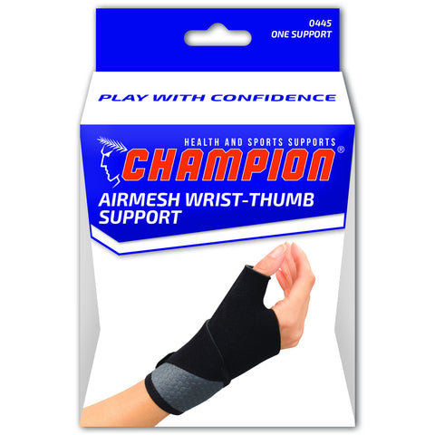 Champion C-445, Airmesh Wrist-Thumb Support