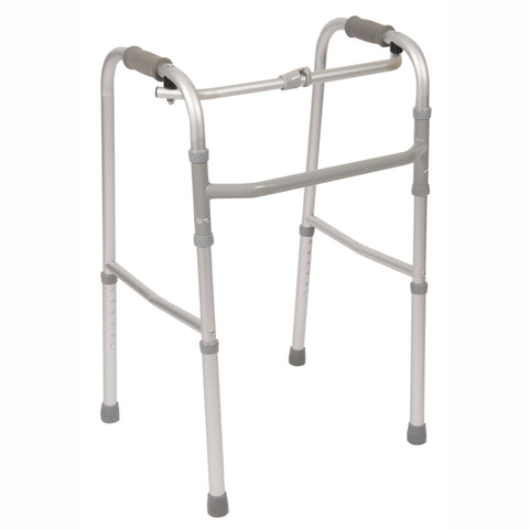 Single Button Folding Walker