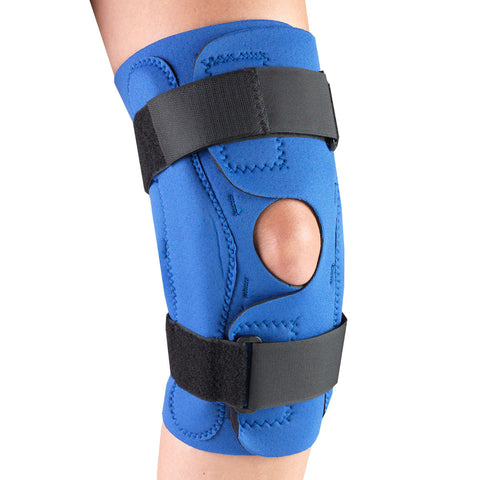 OTC 0311, Neoprene Knee Stabilizer Wrap - Hinged Bars