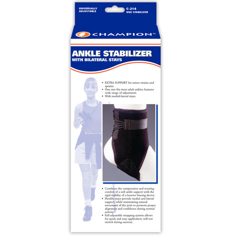 Champion C-214, Ankle Stabilizer with Bilateral Stays