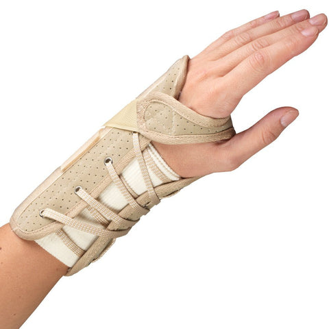 OTC 2360, Cock-Up Wrist Splint - Suede Finish