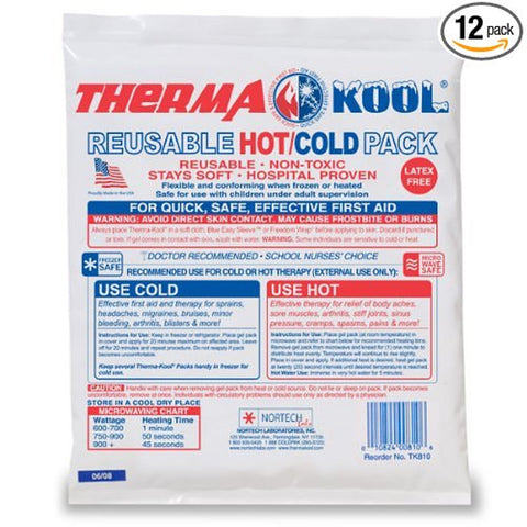 PCP , Therma-Kool (6 x 10) Reusable Hot Cold Gel Pack, Case of 12
