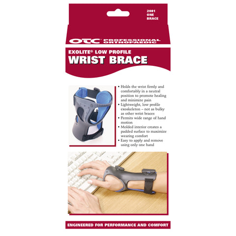 OTC 2081, Low Profile Wrist Brace