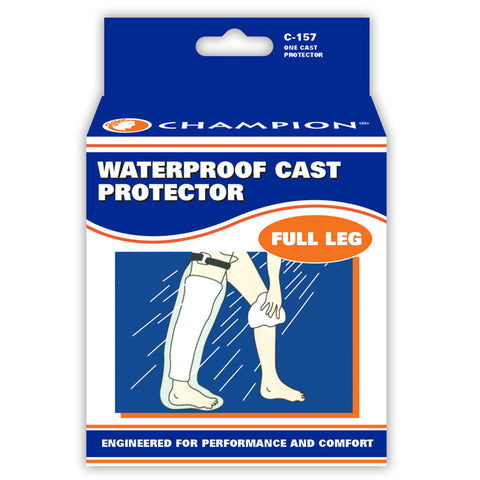 Champion C-157, Cast Protector, Full Leg Size