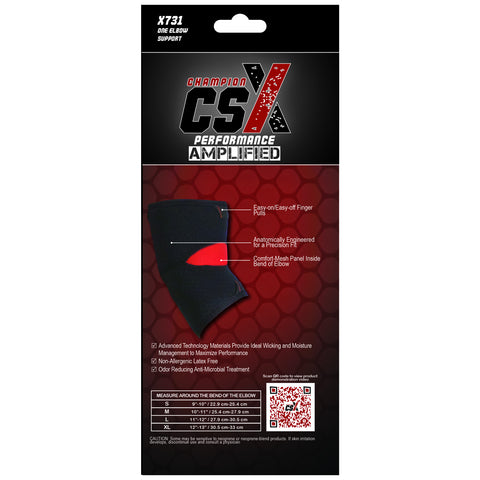 CSX X731, Elbow Support