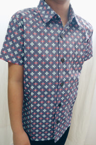 Criss Cross Shirt  (Last Piece in Size 4T Only)