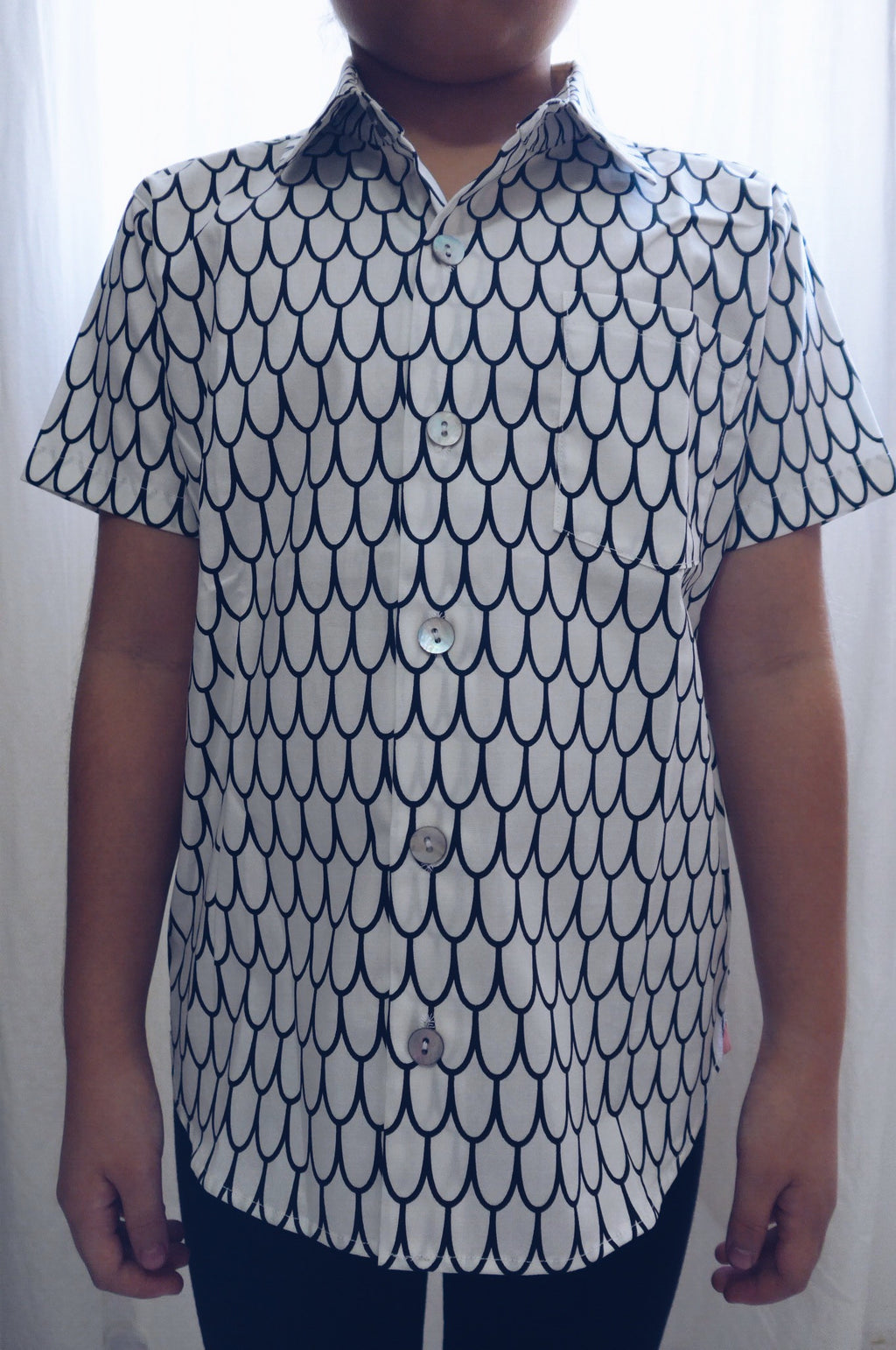 Scallop Swirls Shirt (LAST PIECE IN 5T)