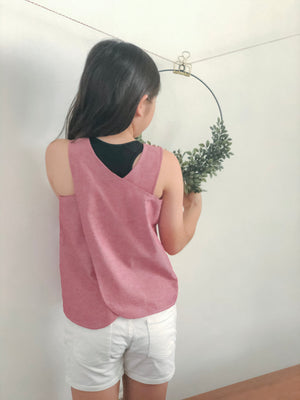 Shalom Cross-back Top (Girls)