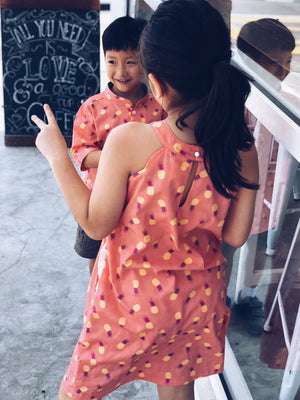 Peppa Pineapple Dress