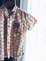 Rose & Gold Honeycomb Shirt