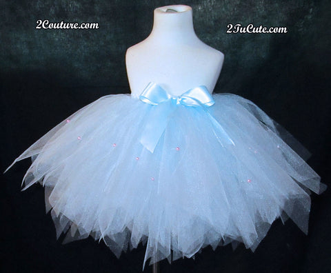 Child's Couture Baby Blue Skirt