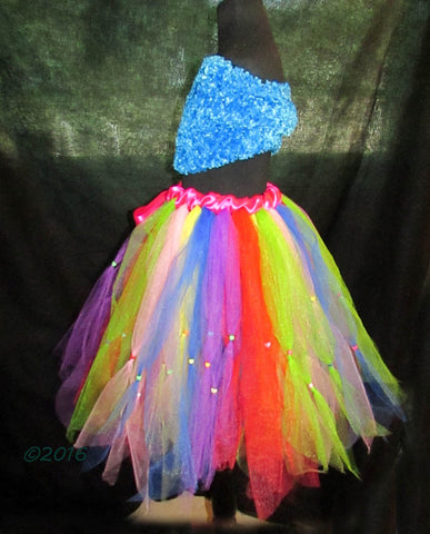 Ladies Beaded Tutu Skirt