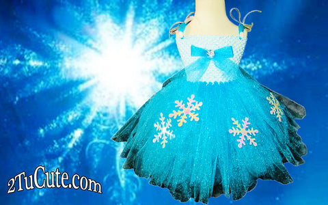 Disney's Frozen Inspired Tutu Dress
