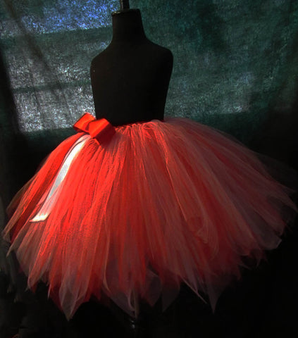 Candy Canes and Peppermint Inspired Tutu Skirt