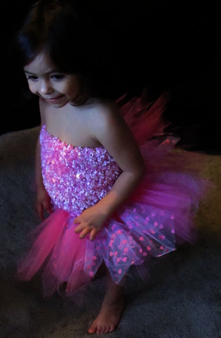 Pink Heart Specialty Tutu