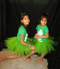 Choose Your Size Sparkle Green Tutu Skirt