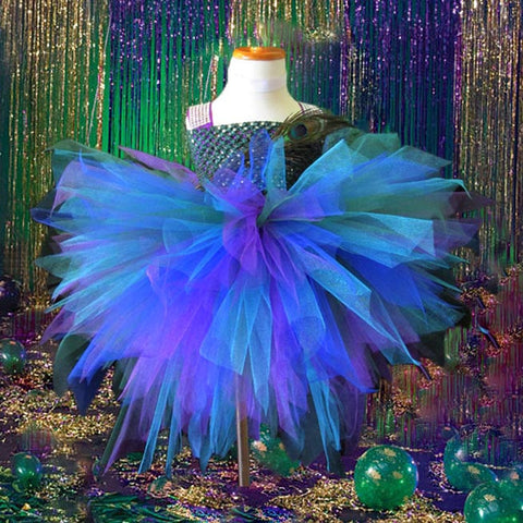 Bustle Peacock Couture Tutu