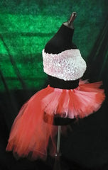 Red and Pink Bustle Tutu