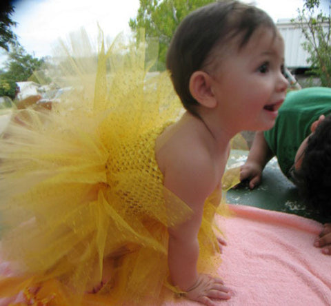 Golden Sunshine Tutu
