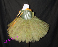 Camouflage Tutu Dress or Skirt