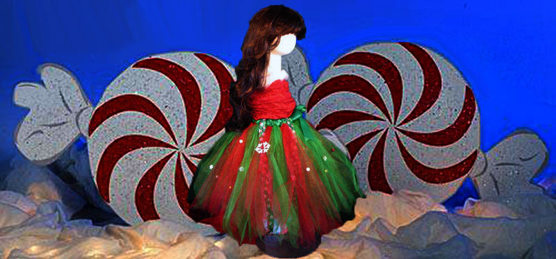 Plus Size Merry Christmas Tutu