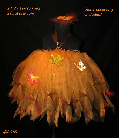 Flavor of Autumn Tutu Dress