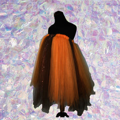 Autumn Harvest Tulle Dress