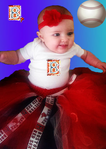 Boston Red Sox Inspired Tutu