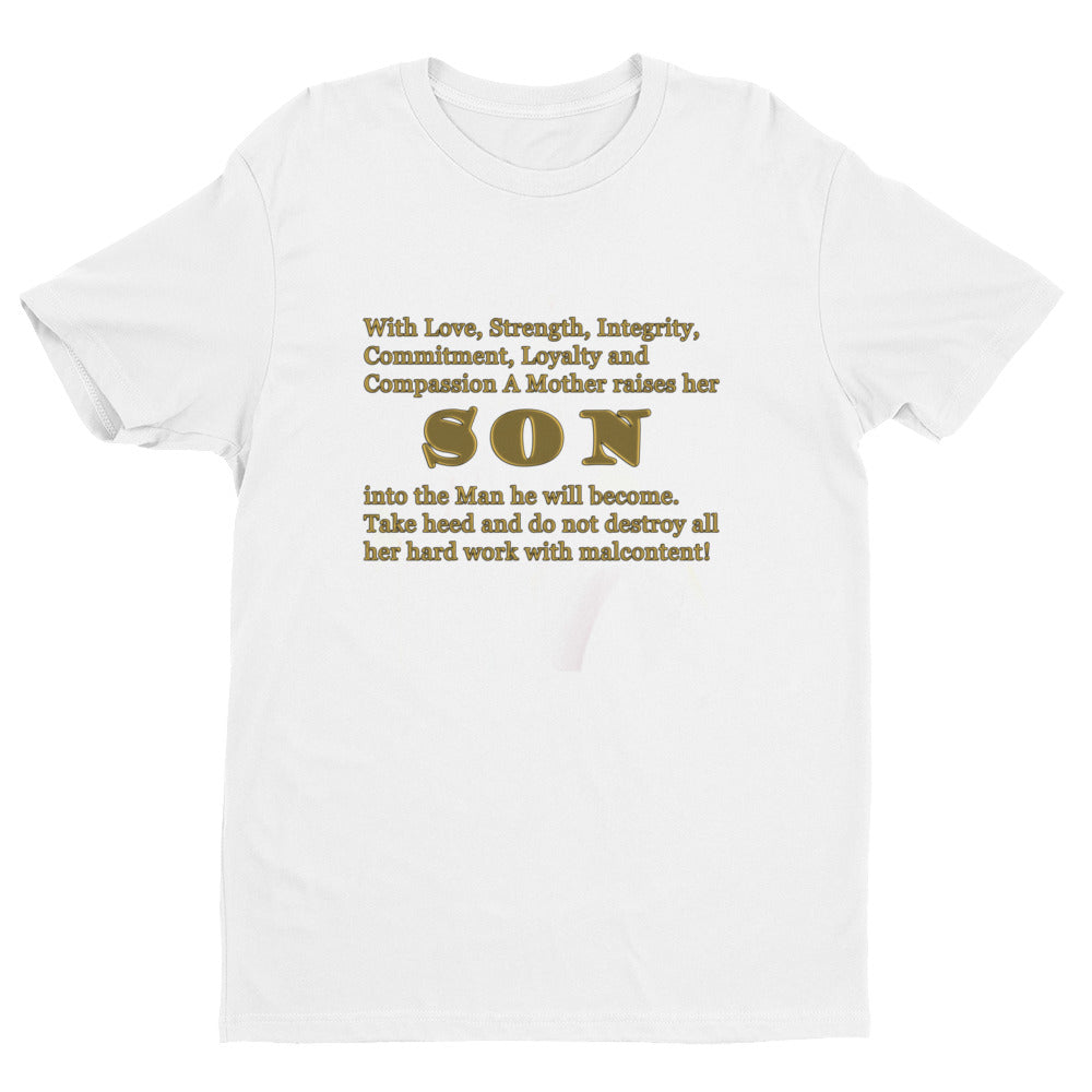 A Mother's Son Short Sleeve T-shirt
