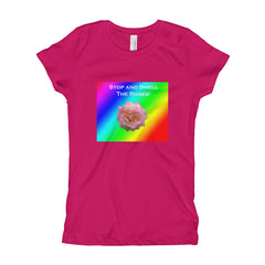 Girl's Smell the Roses T-Shirt