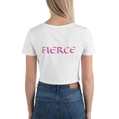 Women's Fierce Crop Tee