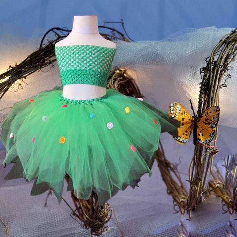 Flower Fairy Tutu Skirt