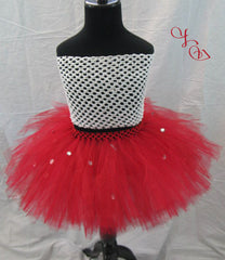 Baby in Red Tutu