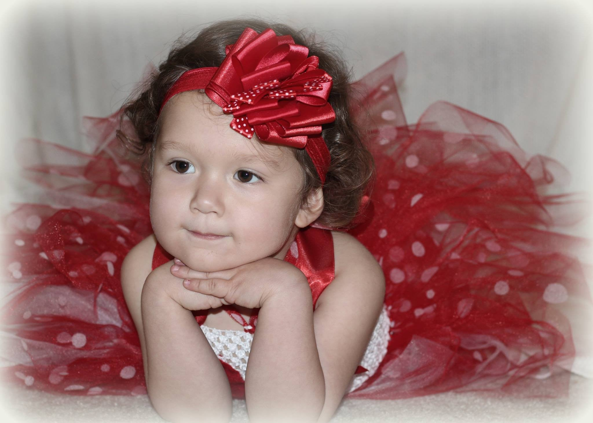 Red Polka Dot Minnie Mouse Themed Tutu