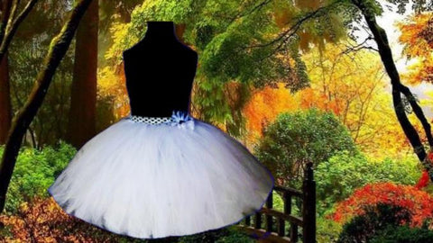 Full Figure Custom Option Tutu Skirt