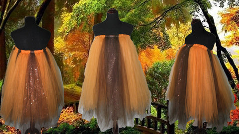 Autumn Tulle Dress