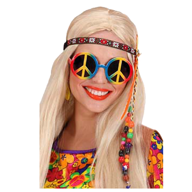 LUNETTES PEACE AND LOVE MULTICOLORES UV400