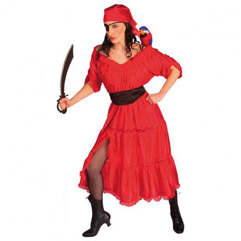 robe rouge pirate