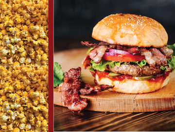 Bacon Cheeseburger Gourmet Popcorn