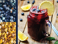 Blueberry Lemonade Blend Gourmet Popcorn
