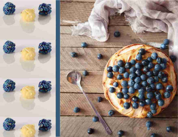 Blueberry Pie Blend Gourmet Flavored Popcorn