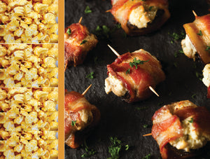 Bacon and Cheddar Gourmet Popcorn