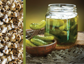 Creamy Dill Gourmet Pickle Popcorn